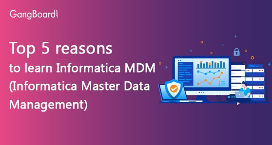Top 5 reasons to learn Informatica MDM