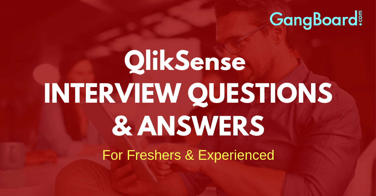 QlikSense interview questions and answers