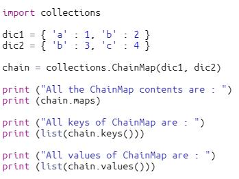ChainMap