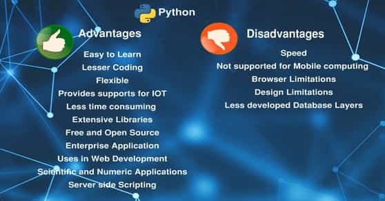 Python Advantages and Disadvantages
