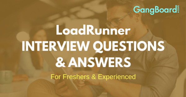 loadrunner interviw questions and answers