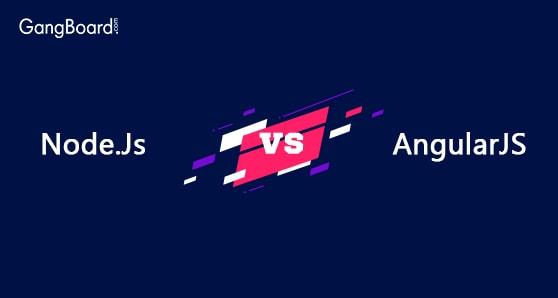 Comaprison of NodeJS and AngualrJS