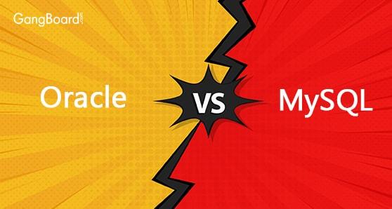 Comparison of Oracle Vs MySQL