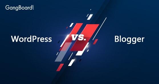 Comparison of Wordpress Vs Blogger