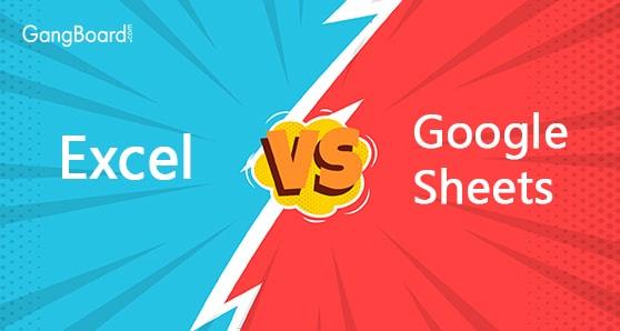Excel vs Google Sheet