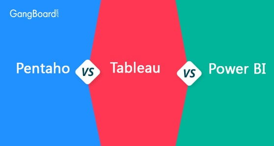 Pentaho vs Tableau vs Power BI