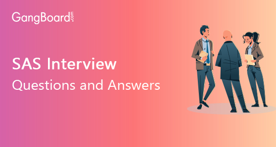 SAS Interview Questions