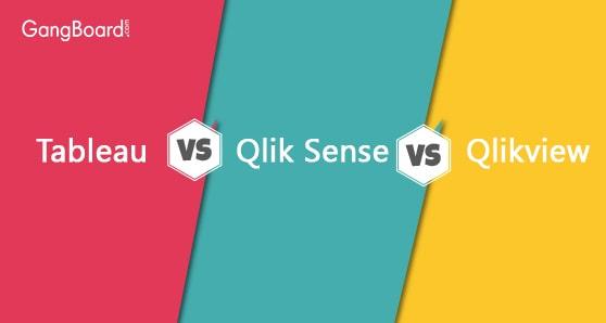 Tableau vs Qlikview vs Qlik Sense
