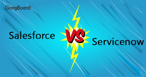 Salesforce vs Servicenow