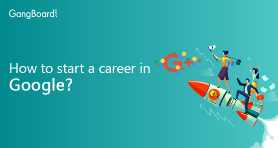 Start a career in google