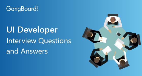 UI Developer Interview Questions