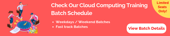 Cloud Computing Batch Shedule
