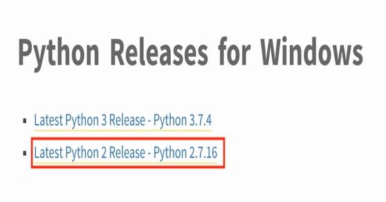 Python 2 Release