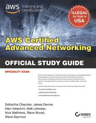 AWS Certified Advanced Networking Specialty Certification Study Guide
