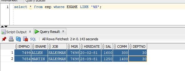 SQL Tutorial Scenario-2