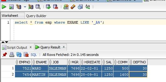 SQL Tutorial Scenario-3