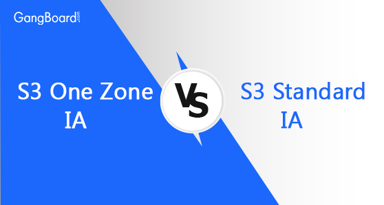 S3 One Zone ia vs S3 Standard ia