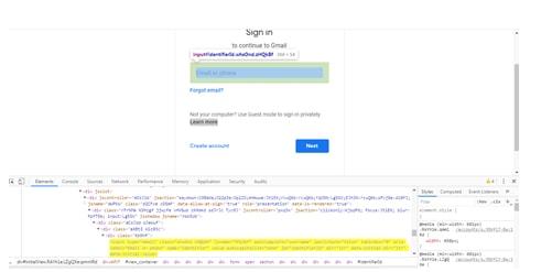 Launch Chrome in XPath Locator