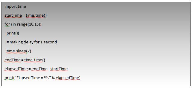 Time Sleep Function Example-3