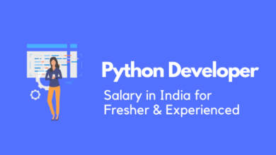 Python Developer Salary in India for Fresher & Experienced